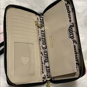 Juicy Couture Bags - JUICY COUTURE FORBIDDEN FRUIT NWT WALLET BLACK